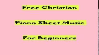 Video Free Christian Piano Sheet Music For Beginners download MP3, 3GP, MP4, WEBM, AVI, FLV Juni 2018