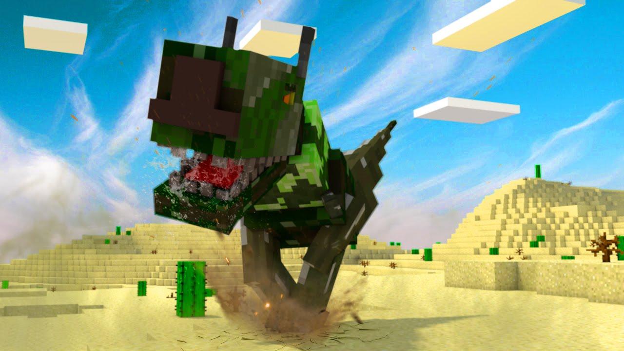 Minecraft dinosaurs jurassic craft modded survival ep 10 for The atlantic craft minecraft