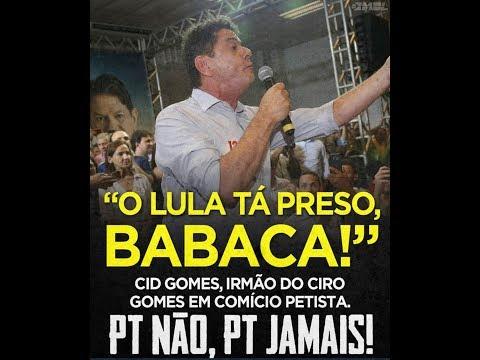 Discurso do Cid Gomes, irmão do Ciro Gomes, no lançamento da campanha do segundo turno, pró Haddad.