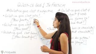 Using Exclamation Mark Quote In French - French Language Videos