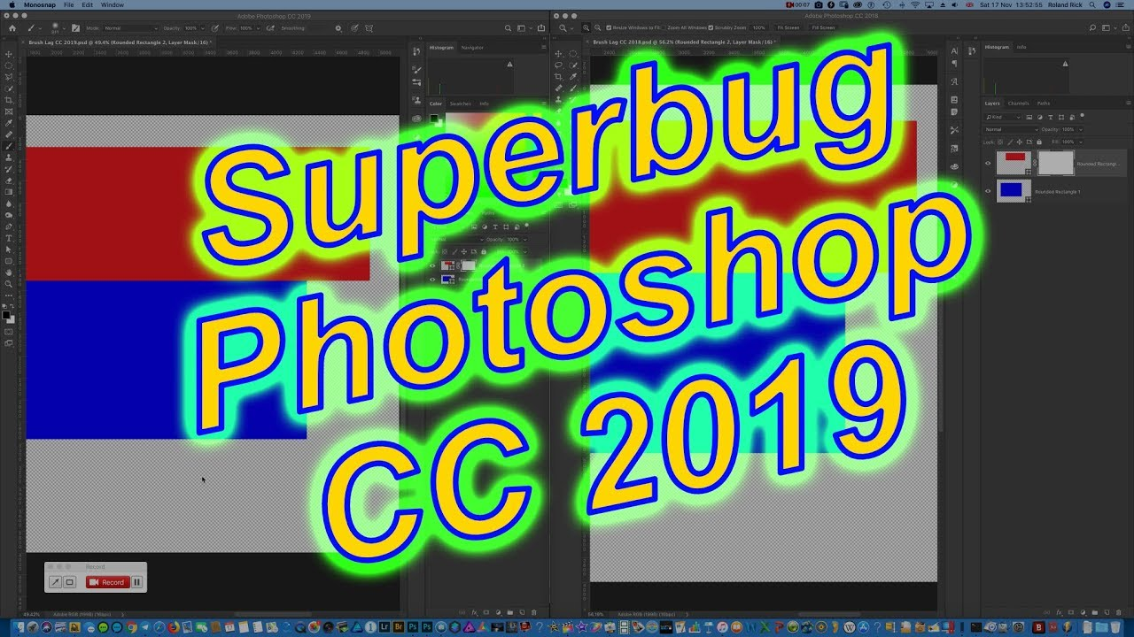 Photoshop CC 2019: Brush Lag | Adobe Community