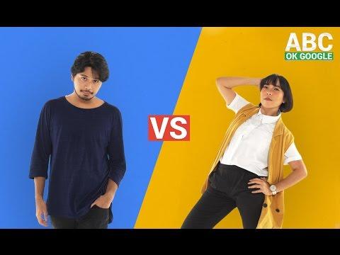 #SelaluTauMusik: Petra Sihombing vs Fitri Tropica main ABC OK Google