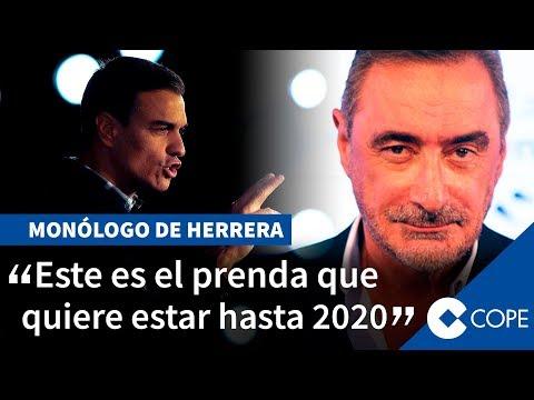 Herrera atiza a Sánchez por 'comprar a los golpistas'