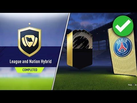 PROFIT ZA HYBRYDY LIG I NARODÓW SBC !!!   FIFA 18 ULTIMATE TEAM