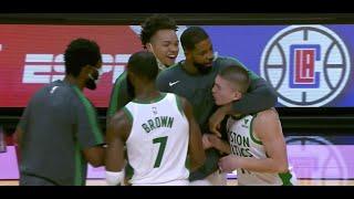 Celtics Rookie Payton Pritchard Hits Game-Winner Against Heat