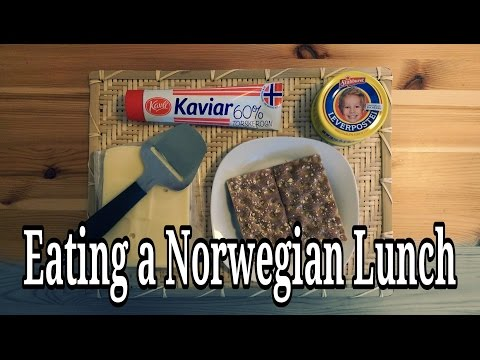 An American Having a Norwegian Lunch | AmeriNorge