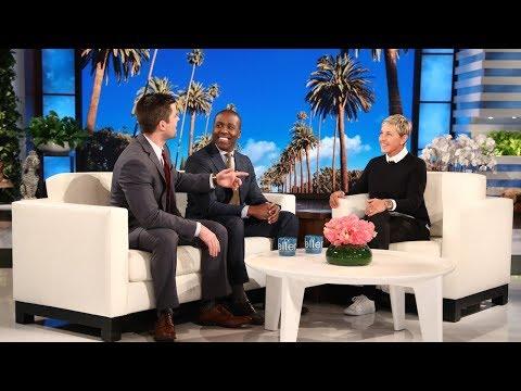 Ellen Welcomes Singing Doctors Elvis & William