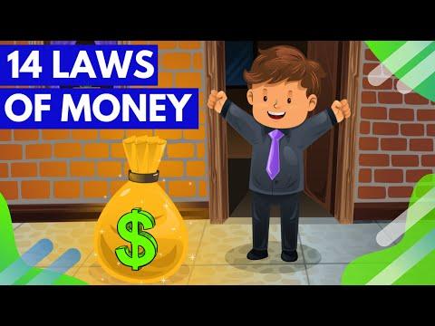 THE HIDDEN SECRETS OF MONEY   14 Laws of Money