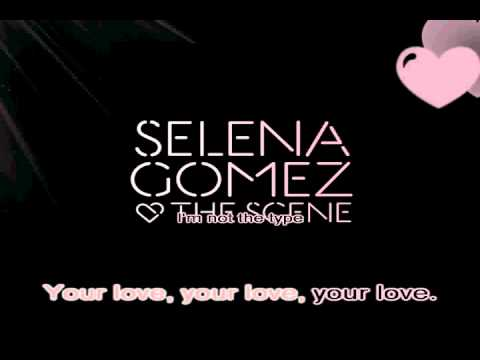 Selena Gomez & The Scene - Off The Chain [Karaoke/Instrumental] With Lyrics