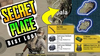 🤑 SECRET ISLAND = BEST LOoT🔥 | Exploring Secrete Islands In Miramar Map In PubG Mobile
