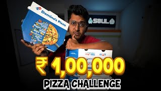 ₹1,00,000 Pizza Challenge #Vlog1 ft. S8ul