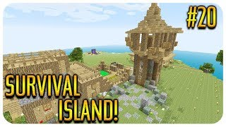 ✅ MINECRAFT - SURVIVAL ISLAND - WITHER BOSS BATTLE!! Episode 20