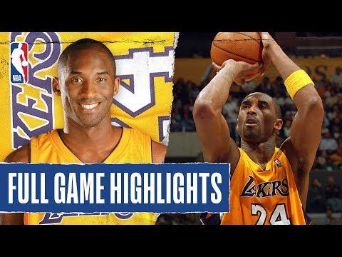 FULL GAME HIGHLIGHTS: Kobe Bryant Goes OFF for 65 PTS in OT Thriller!