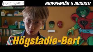 Berts dagbok film