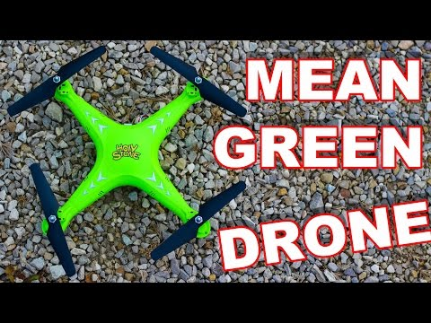 Mean Green Camera Drone - Holy Stone HS110 - TheRcSaylors