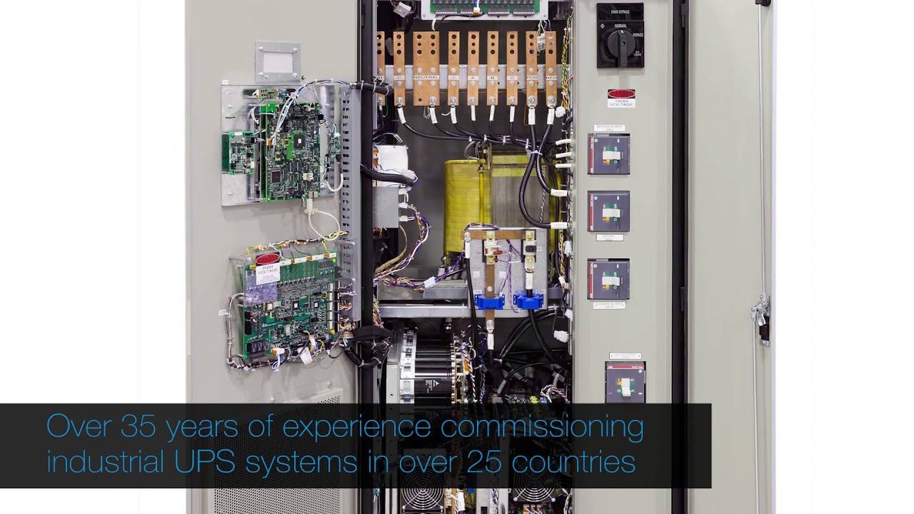 Cyberex® PowerBuilt™ industrial UPS offers faster and more ...