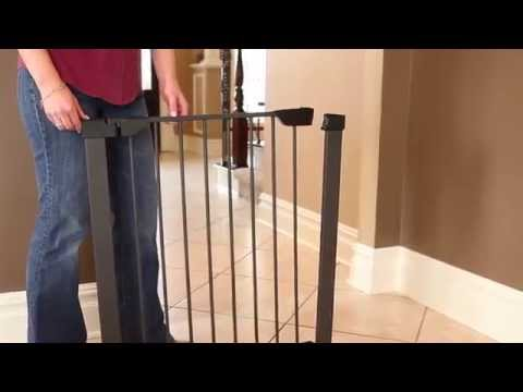 Steel Pet Gate - Installation and Features, by MidWest Homes for Pets