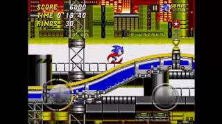 "Sonic 2 2013 - Chemical Plant 2: 34""86 (Speed Run)"