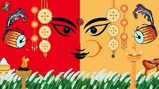 Subho Mahalaya Animation - Agomoni     New Mahalaya Whatsapp Status Video 2021   