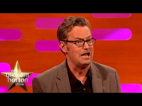 Matthew Perry's Drunken Night Out With M. Night Shyamalan - The Graham Norton Show