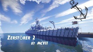 Moinsen Liebe YouTube Community heute mal wieder ein video von mir und zwar ein Trailer von Zerstörer 2 der Bundesmarine der Maßstab ist 2:1