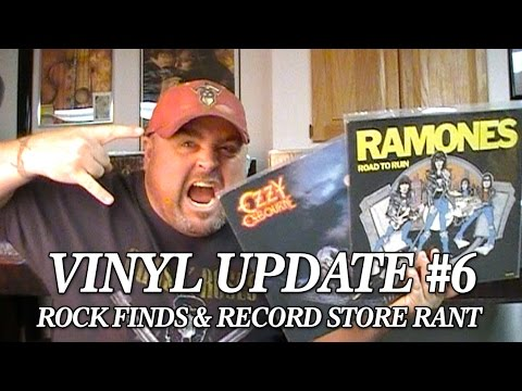 Vinyl Update #6 - Rock Finds & Record Store Rant