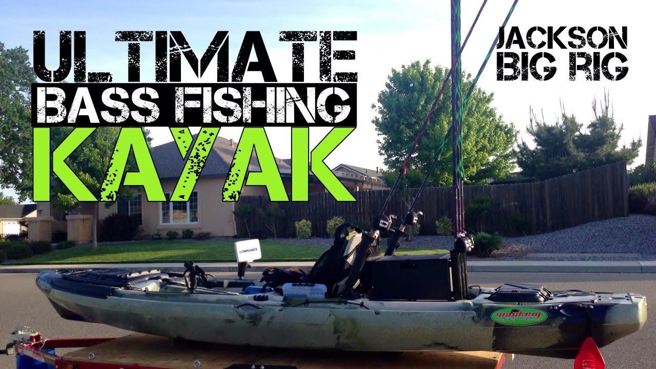 Ultimate bass fishing kayak jackson big rig 2014 youtube for Best bass fishing kayak