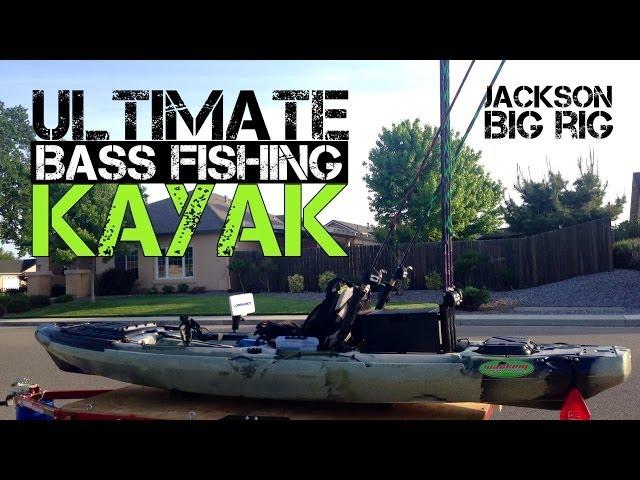 Ultimate Bass Fishing Kayak; Jackson Big Rig (2014)