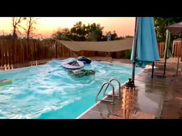 רעידת אדמה בקליפורניה בשידור ישיר