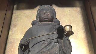 愛知・稲沢市井之口本町にある明源寺の木造聖徳太子立像を紹介した作品...