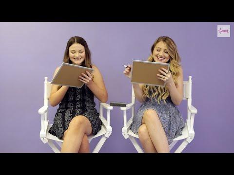 Brooke  Lolli Sorenson Take Popmania's  Sister Quiz