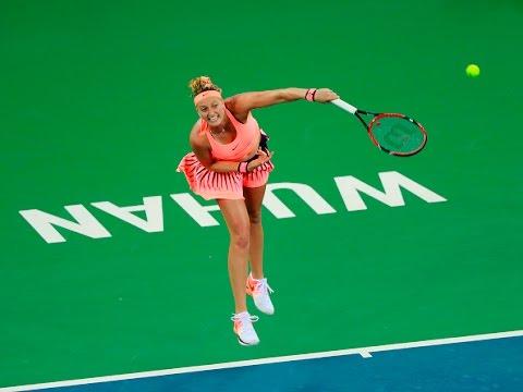 2016 Wuhan Open Quarterfinal | Petra Kvitova vs Johanna Konta | WTA Highlights
