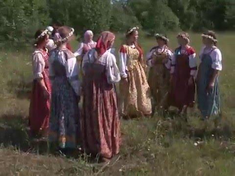 Народные гуляния. Русские праздники. Троица. Часть 1
