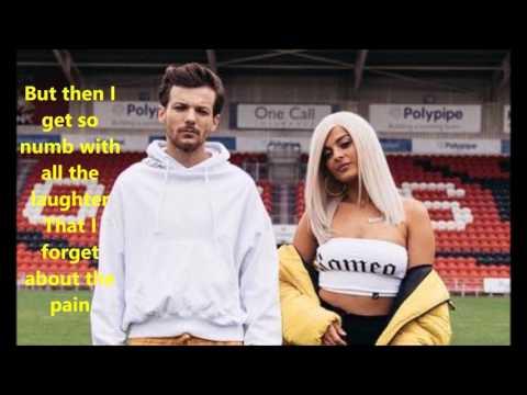 Louis Tomlinson (feat. Bebe Rexha) - Back to you lyrics