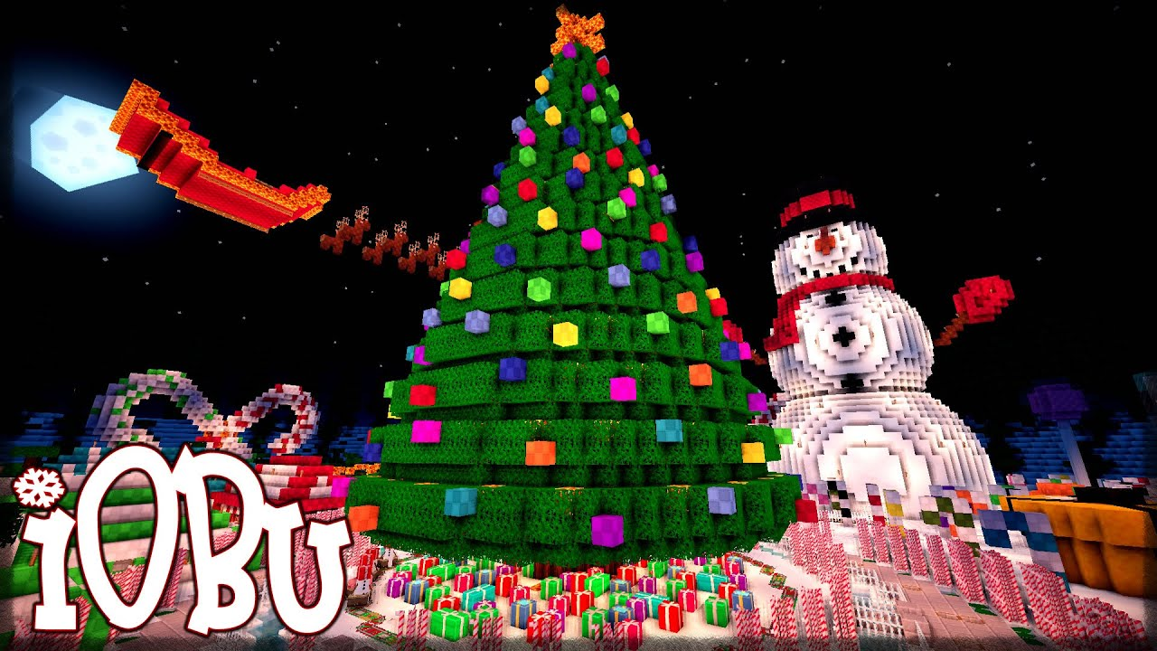CHRISTMAS PARK Minecraft Map With Download  YouTube