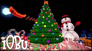 christmas park minecraft map with download