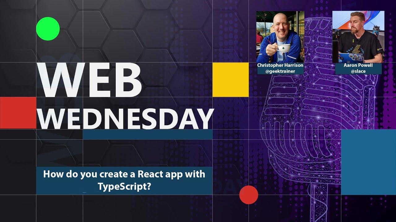 How do you create a React app with TypeScript?