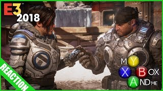 GEARS OF WAR 5 Reactions - E3 2018