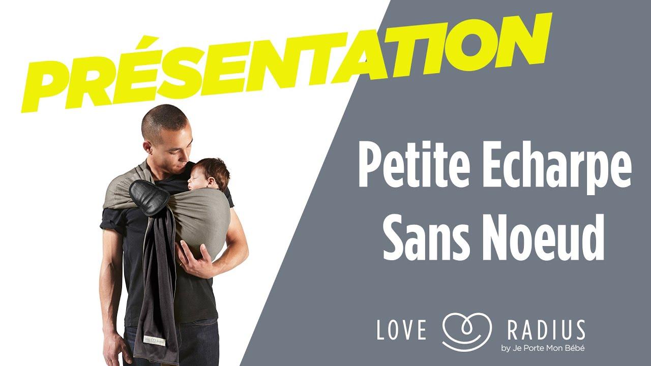 Petite echarpe sans noeud pr sentation jpmbb youtube for Autour de bebe portet