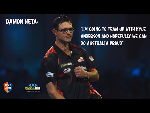"""Damon Heta: """"I'm going to team up with Kyle Anderson and hopefully we can do Australia proud"""""""
