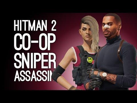Hitman 2 Co-op Sniper Assassin Gameplay: Let's Play Hitman 2 Pre-Order Mode Sniper Assassin