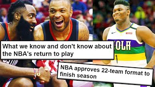 The NBA Is Coming Back - What Does This Mean?