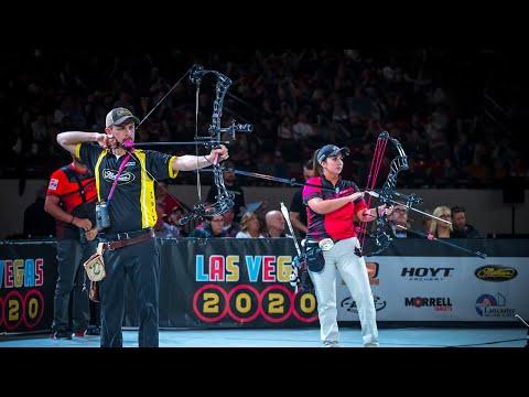 Sara Lopez v Jesse Broadwater – Legends Match (exhibition)   Vegas Shoot 2020