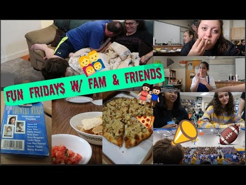FUN WITH FRIENDS & FAMILY | FRENCHMAN FRIDAY FUN | Zoe Rebekah
