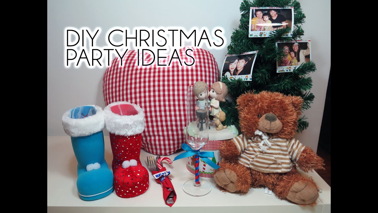 DIY Christmas Party Ideas