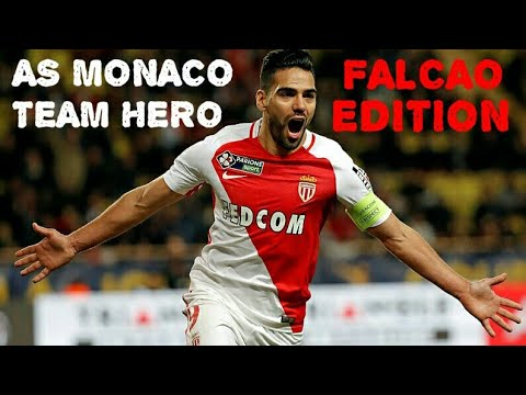 FIFA MOBILE TEAM HEROS #5. AS MONACO FALCAO EDITION.