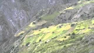 Панорама селища Верхнє Хваршини - 2004р.
