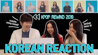 Download lagu [REAKSI KOREA]K-POP REWIND 2019 INDONESIA / 소름끼치게 완벽한 2019 KPOP 리와인드 인도네시아 버전