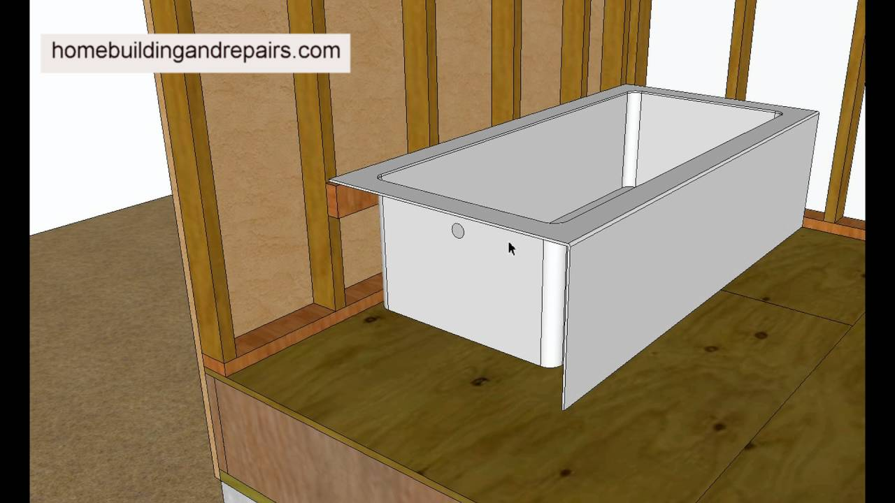 How are Most Bathtub Supported? – Remodeling and Home Building ...
