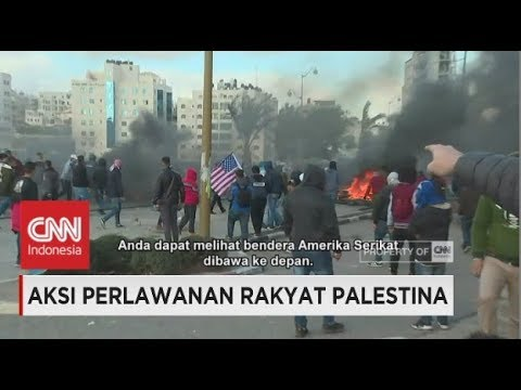 Aksi Perlawanan Rakyat Palestina di Tepi Barat Berujung Bentrok